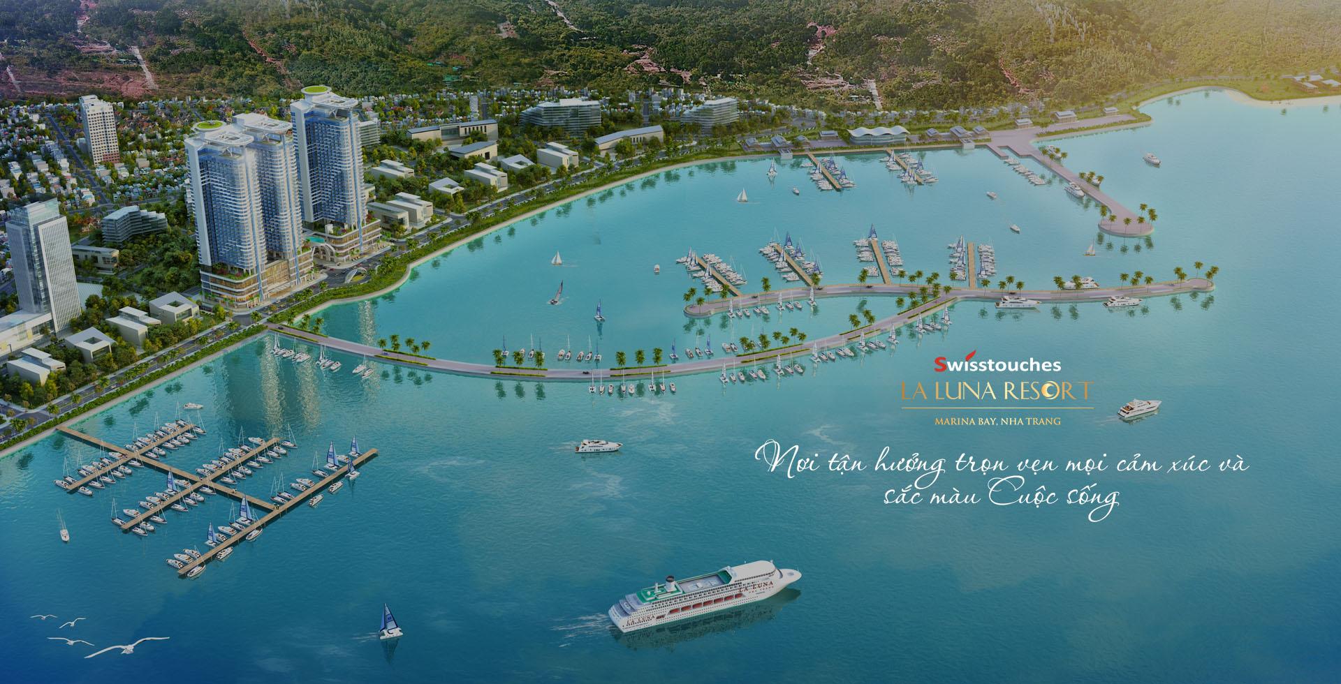 Có một thiên đường nghỉ dưỡng mang tên  La Luna Nha Trang